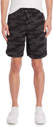 Superdry Printed Relaxed Training Shorts