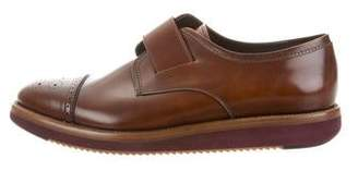 Salvatore Ferragamo Luke Leather Oxfords