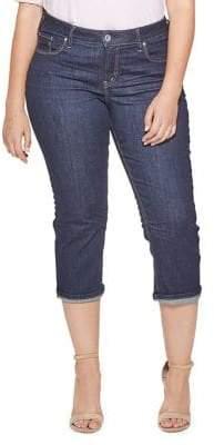 Silver Jeans Avery Capri Jeans