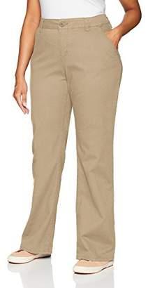 UNIONBAY Women's Plus Size Heather Slash Pocket Uniform Bootcut Pant