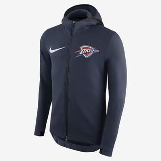 Nike Men's NBA Hoodie Oklahoma City Thunder Therma Flex Showtime