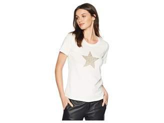 Romeo & Juliet Couture Star Motif T-Shirt Women's T Shirt
