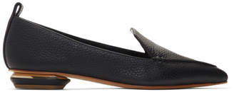 Nicholas Kirkwood Black Beya Loafers