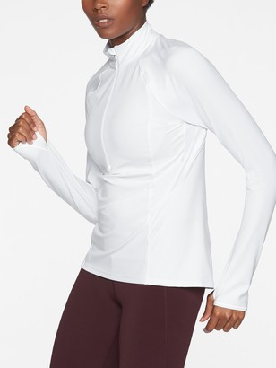 Athleta Run Free Half Zip In Powervita