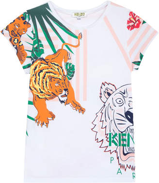 Kenzo Assorted Icon Graphic T-Shirt, Size 5-6