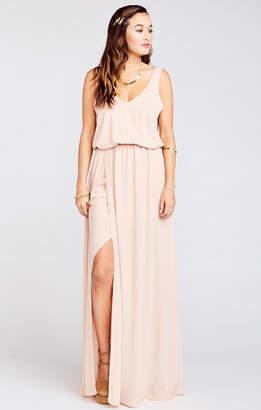Show Me Your Mumu Kendall Maxi Dress ~ Dusty Blush Crisp