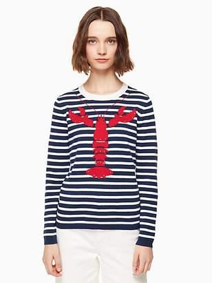 Kate Spade Lobster stripe sweater
