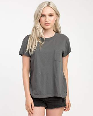 RVCA Junior's Label Pocket T-Shirt