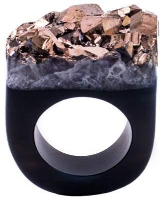 Tiana Jewel - Ember Metallic Rose Gold Ring