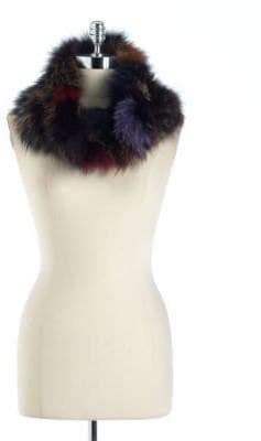 Surell Fox Fur Loop Scarf
