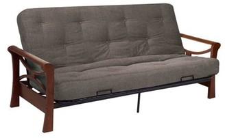 Serta Diablo Dark Cherry sofa w/ Cypress deco fabric futon