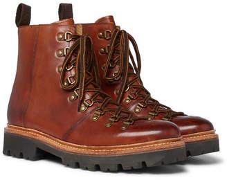 Grenson Brady Polished-Leather Boots