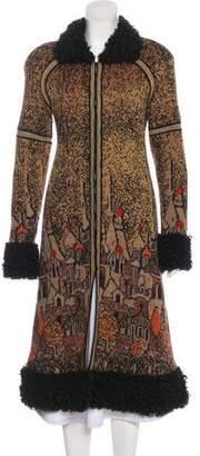 Chanel Paris-Moscou Knit Coat