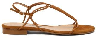 Emme Parsons Liv T Strap Leather Sandals - Womens - Tan
