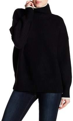 360 Cashmere Sasha Turtleneck Knit Sweater