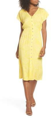 Knot Sisters Lido Front Button Sheath Dress