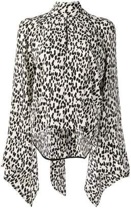 Petar Petrov leopard print blouse
