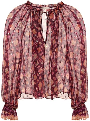 Ulla Johnson Nailah fil coupe blouse