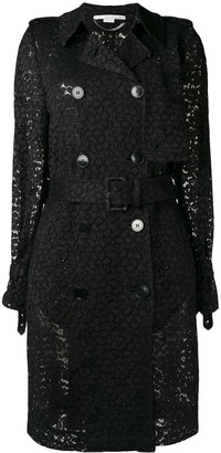 Stella McCartney lace trench coat