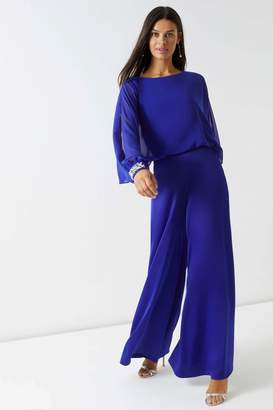 Next Lipsy Jewel Cuff Long Sleeve Jumpsuit - 4