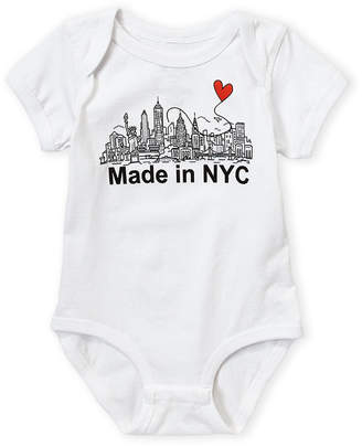 Baby Essentials Miss Popular (Newborn/Infant Girls) Short Sleeve NYC Skyline Bodysuit