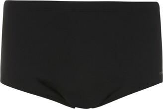 OSKLEN stripe detail swimming trunks