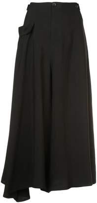 Yohji Yamamoto wide leg culottes