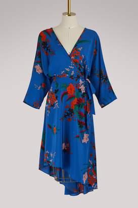 Diane von Furstenberg Asymmetrical dress with long sleeves