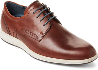 Ecco Cognac Jared Leather Oxford Sneakers