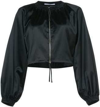 Rosetta Getty zipped cropped jacket