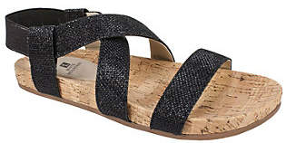 White Mountain Glitter Sandals - Felix