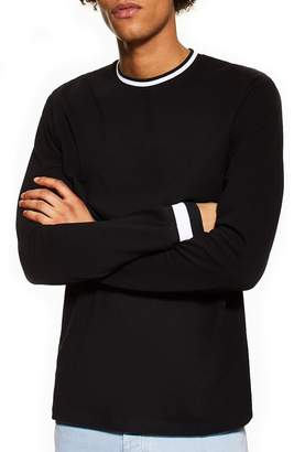 Topman Ringer Long Sleeve T-Shirt
