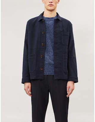 b15aa03241 Mens Cotton Knit Pattern Sweater - ShopStyle
