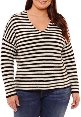 A.N.A Long Sleeve Sweatshirt - Plus