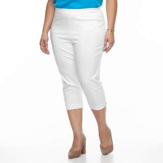 Dana Buchman Plus Size Millennium Pull-On Capris