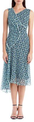 Jason Wu Sleeveless Printed Chiffon Dress