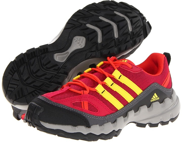 adidas Kids - AX 1 K (Little Kid/Big Kid) (Pride Pink/Vivid Yellow/Hi Res Red) - Footwear