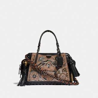 Coach Dreamer 21 In Signature Canvas With Tattoo