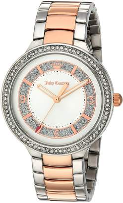 Juicy Couture Women's 1901419 Catalina Analog Display Japanese Quartz Two Tone Watch