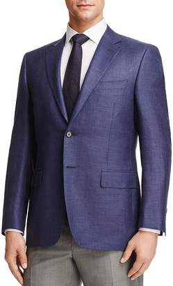 Canali Plaid Classic Fit Sport Coat