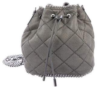 Stella McCartney Shaggy Deer Falabella Quilted Bucket Bag
