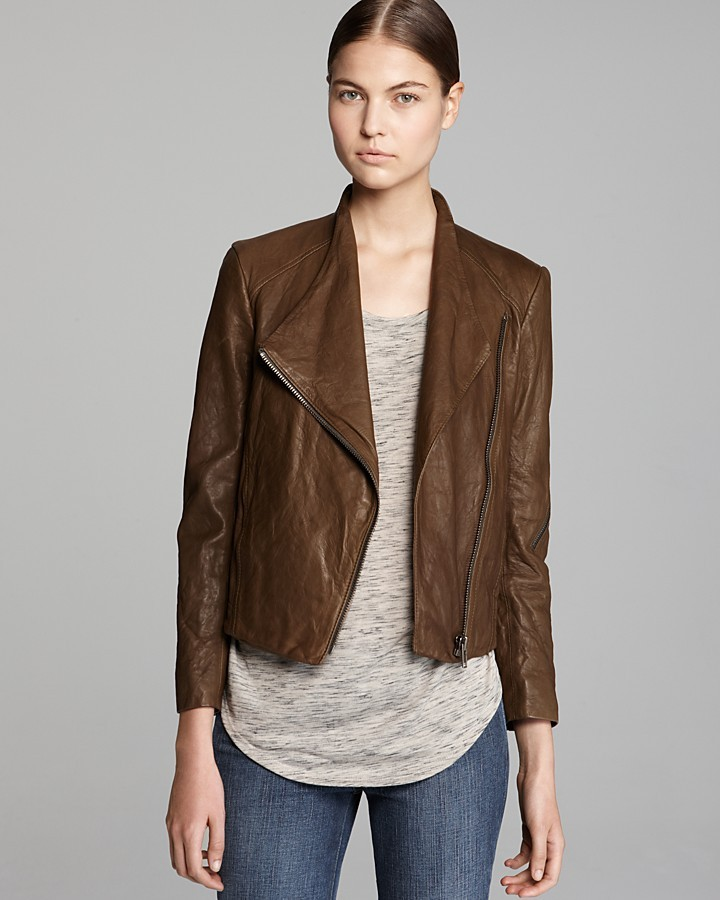 Helmut Lang HELMUT Leather Jacket - Washed Moto