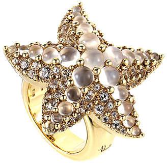Pomellato 18K Moonstone Starfish Ring
