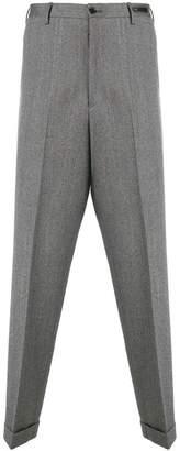 Pt01 herringbone trousers