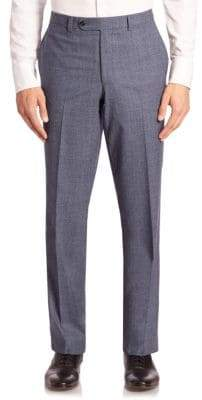 Saks Fifth Avenue COLLECTION Heathered Wool Trousers