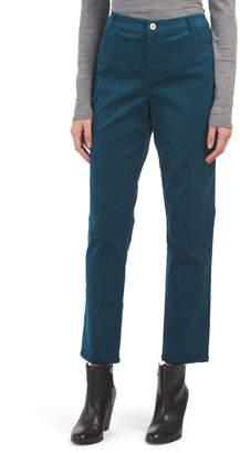 Straight Leg Corduroy Pants