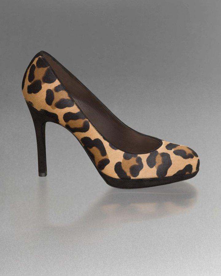 Leopard-Print Pump