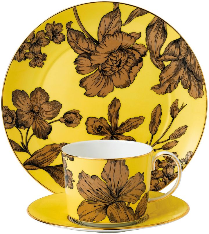 Wedgwood® Vibrance 3-Piece Place Setting in Yellow