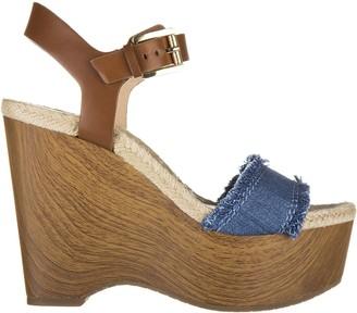 Michael Kors Leather Shoes Wedges Sandals Leni