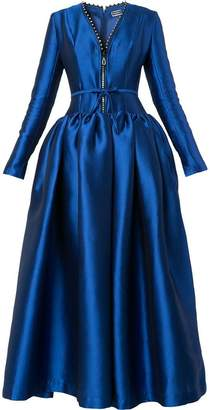 Alexis Mabille front-zip gown